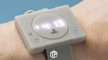 SONY以經典 PlayStation 樣式,打造全新電子腕錶款式!