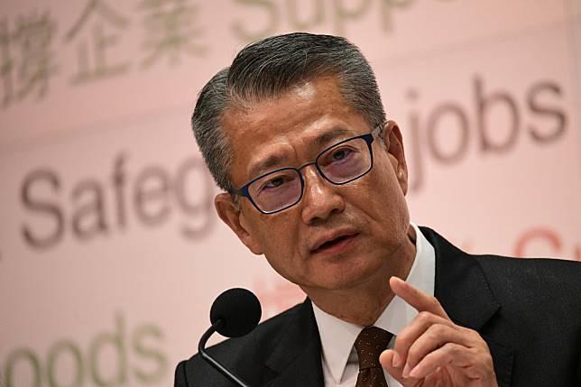 財政司司長陳茂波。