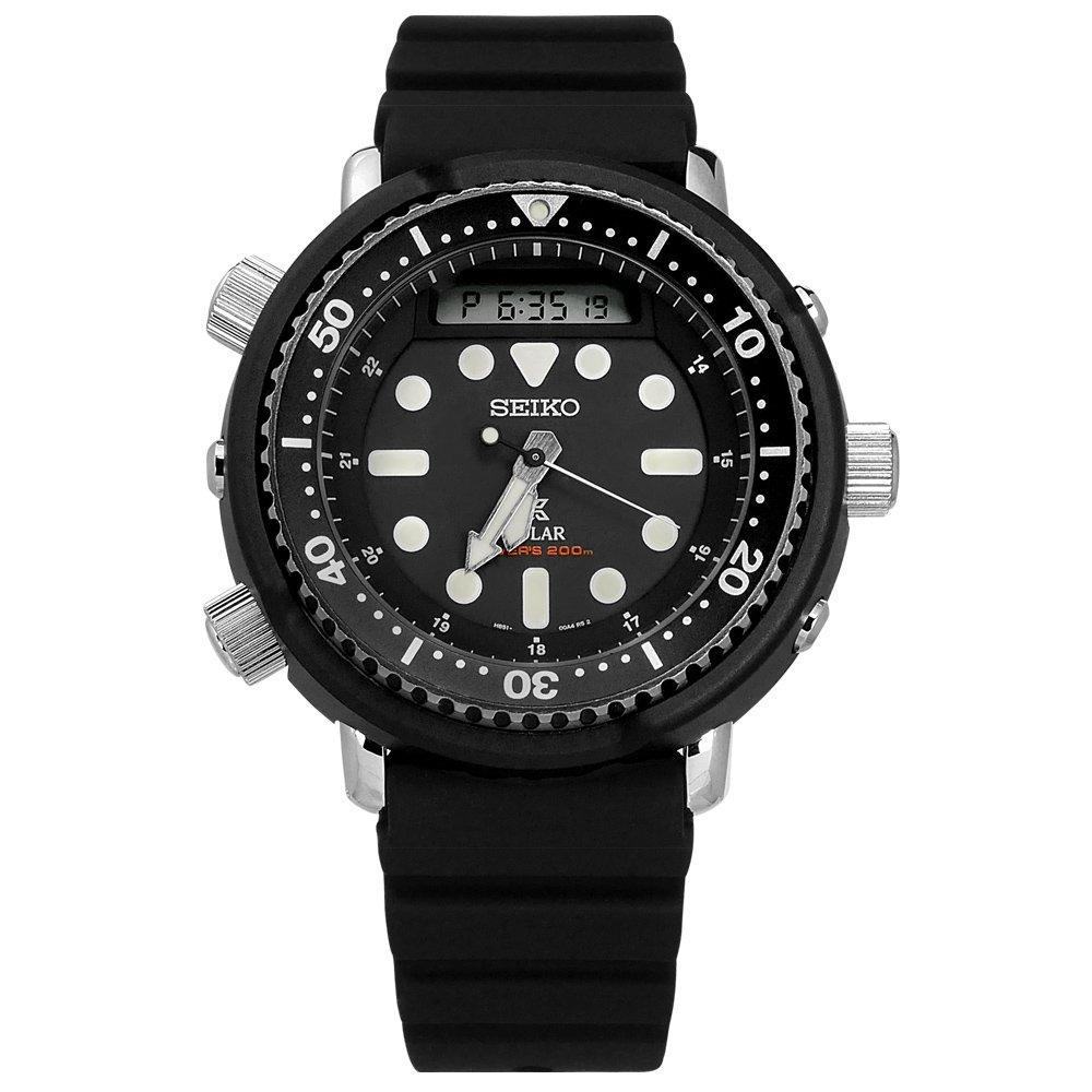 ■ 原廠公司貨■ 保固二年■ 雙顯顯示■ 環保太陽能■ 日本機芯■ 200M 潛水錶