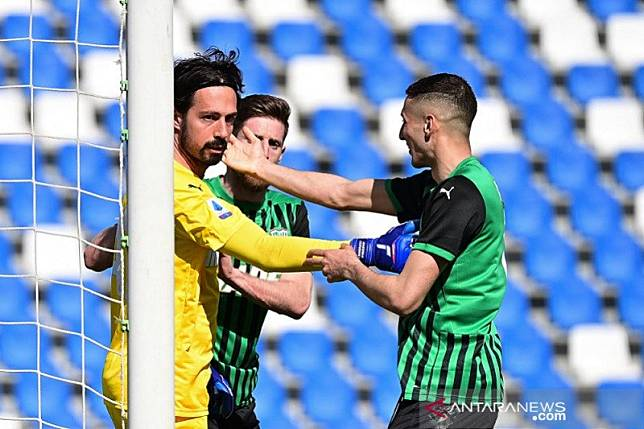 Atalanta diimbangi Sassuolo, Inter resmi raih scudetto