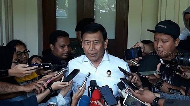 Menkopolhukam Wiranto. (Suara.com/Novian).