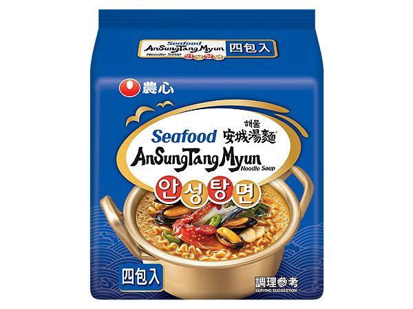 韓國 農心~安城湯麵(海鮮味)112gx4包【D043939】團購/泡麵,還有更多的日韓美妝、海外保養品、零食都在小三美日,現在購買立即出貨給您。
