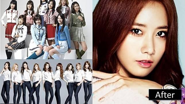 12 Foto transformasi anggota girlband K-Pop SNSD, oplas nggak ya?