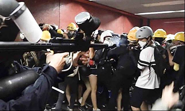 United Nations human rights body takes aim at Hong Kong police over use of weapons