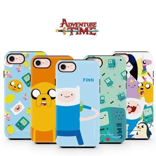 Adventure Time 探險活寶 硬殼 手機殼│S7 Edge S8 S9 S10 Note5 Note8 Note9│z8187