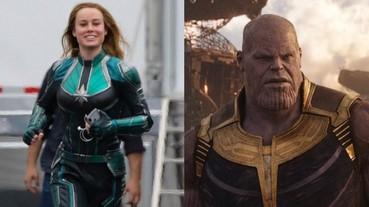 〔漫威宇宙〕驚奇隊長在拍個人電影前早就演完《復仇者聯盟 4》 薩諾斯坦言已經和她對過戲!
