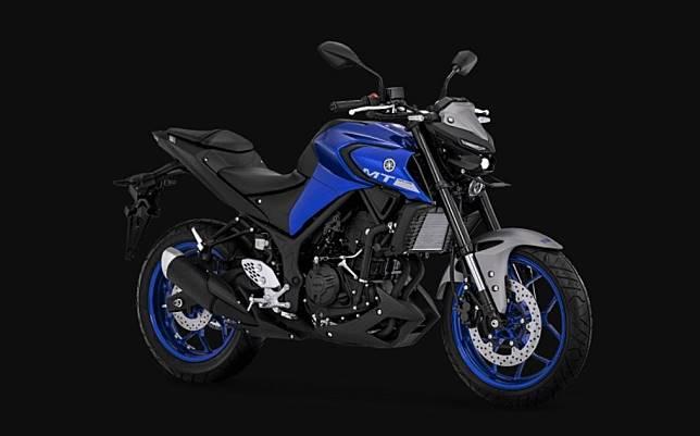 Pilihan warna Yamaha MT-25