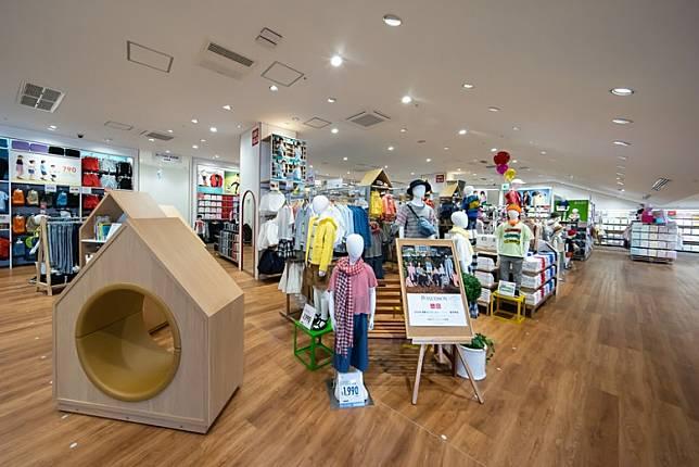 3樓可以買到UNIQLO及GU兩個品牌嘅嬰兒、兒童用品。(互聯網)