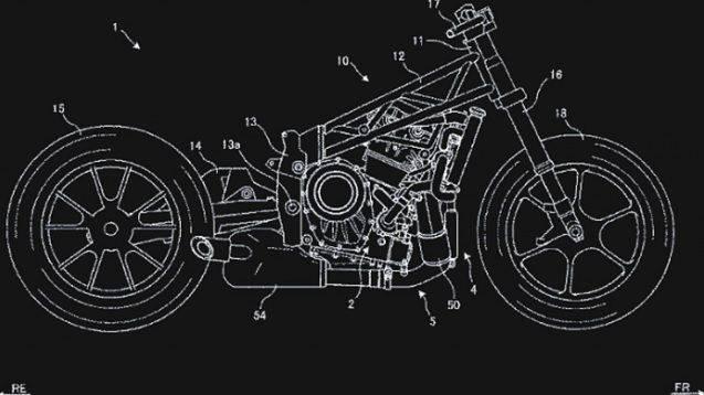 Sketsa motor baru Suzuki
