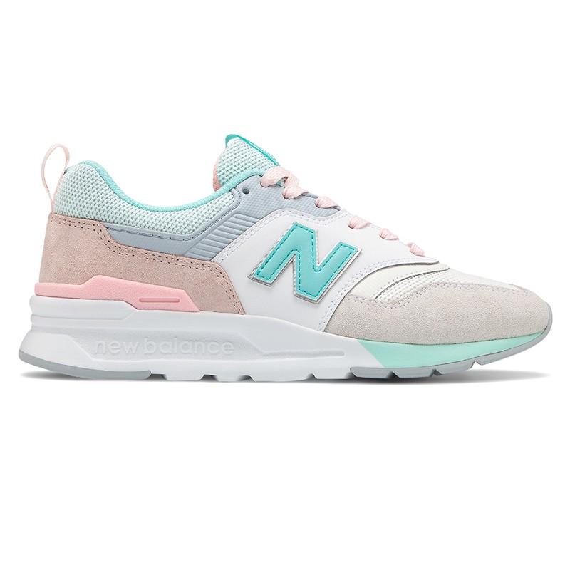 【New Balance】復古鞋 CW997HBA-B 女性 奇異果綠