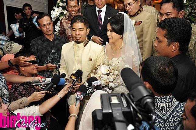 Bams eks Samsons dan Mikhavita Wijaya sedang dalam proses cerai. (Seno/tabloidbintang.com)