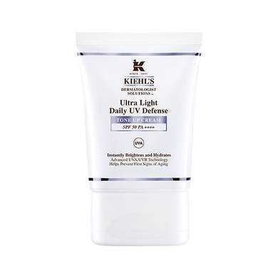 ●KIEHL'S首創,讓肌膚發光的UV防曬!●素顏霜1抹立即提亮膚色,讓肌膚整天呈現自然光澤的好氣色。●SPF50 PA++++超高防護力與無油清爽的超輕質地,適合所有膚質使用。