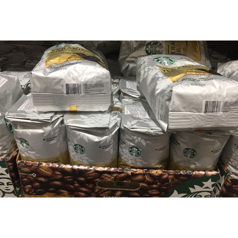 STARBUCKS VERANDA BLEND黃金烘焙綜合咖啡豆每包1.13公斤 C548080