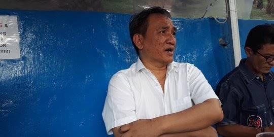 Wakil Sekretaris Jenderal Partai Demokrat, Andi Arief. dancopy;2018 Merdeka.com/Intan Umbari Prihatin