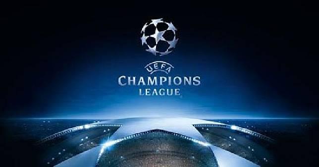 Logo Liga Champions. (sporting tribun)