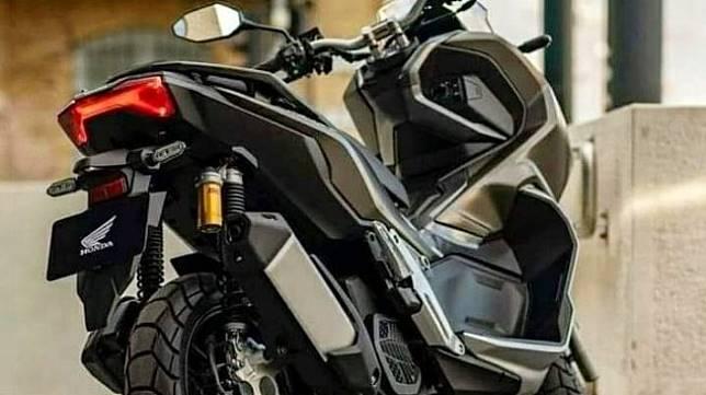 Bocoran skuter matik 150cc Honda X Adv. (Facebook/Mickey Sujarwo)