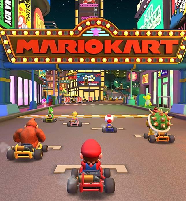 玩家可使用不同角色馳騁世界各地的特色賽道。(互聯網)