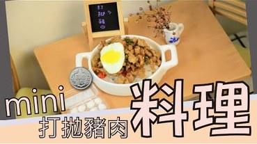 【料理】打拋豬肉,mini 迷你 料理篇第十七彈-香香辣辣的打拋豬肉。