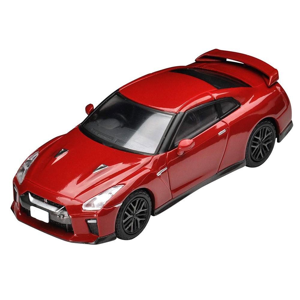 TOMYTEC經典模型車完美比例復古造型打造你的模型小世界品名:LV-148d 日產 GT-R 2017 model (紅)盒裝尺寸(cm):11*10*4.5產地:中國材質:塑膠、金屬、紙內容物:本
