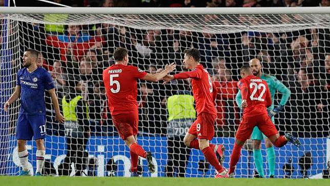 Bayern Munchen Bantai Chelsea di Stamford Brige