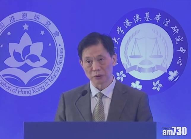 【港區國安法】港澳辦副主任:日後人大可按情況繼續制定法律