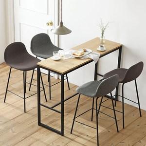 【MH家居】吧椅 高腳椅 赫爾靠背吧台中島椅(70cm) 棕色