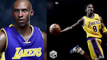 ENTERBAY 推出 Kobe Bryant 1:6 雙人偶套裝!