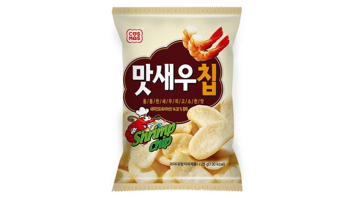 【進口零食】COSMOS韓式鮮蝦脆片