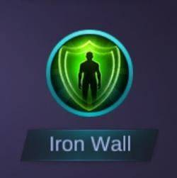 Image result for iron wall mobile legends