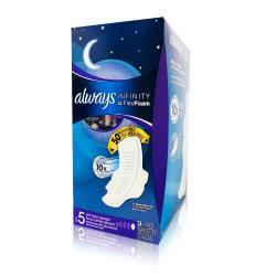 ALWAYS 液體衛生棉夜用加長31.7cm 未來感系列(24片x1盒)