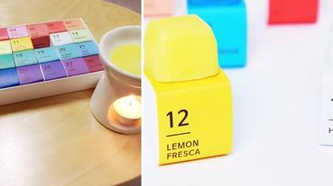 還在買一般的香氛蠟燭嗎?那你就落伍了!韓國的「數字方塊蠟燭」才是潮流