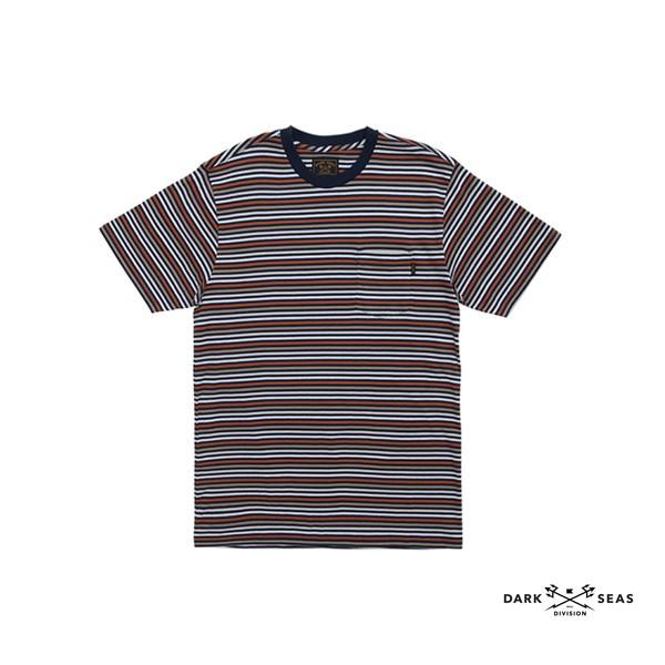 GOODFORIT / 美國dark seas Jet Point復古運動衫條紋上衣