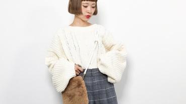 日本街頭人手一只的皮草包款!4種風格簡單打造微甜女孩的時尚Look