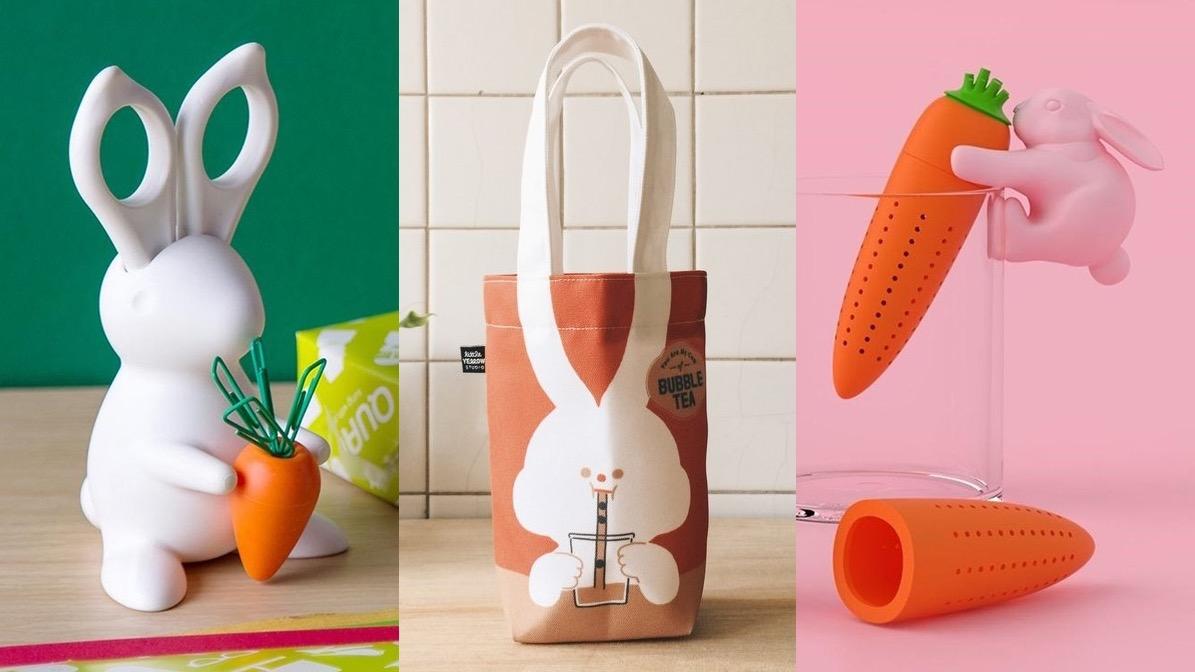 兔兔造型小物推薦!提袋、馬克杯、AirPods保護殼可愛療癒