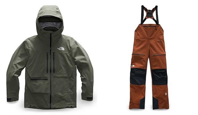 Men SUMMIT SERIES™ L5 Jacket、Women SUMMIT SERIES™ L5 Full Zip Bib(互聯網)