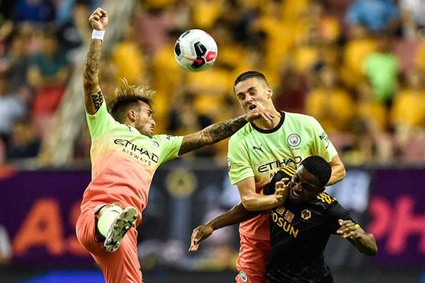 Manchester City vs Wolverhampton Wanderers's yang berlangsung di Tiongkok