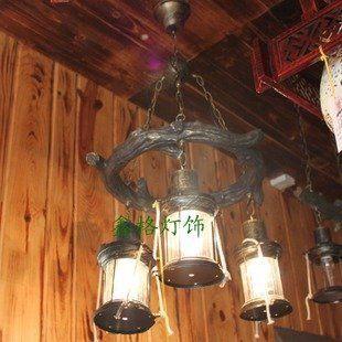 高檔樹脂吊燈美式鄉村