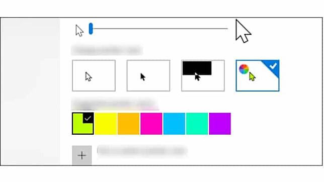 วิธีตั้งค่าเม้าส์ Mouse Cursor บน Windows 10 ยุค 2019