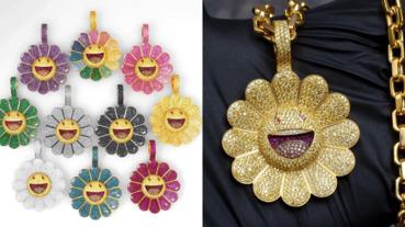 陳冠希也受不了!10 款「超限量」村上隆微笑小花珠寶釋出,網友:「連糖果爸爸也買不起吧⋯」