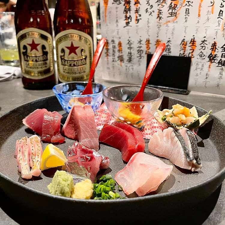 [美味しい魚がたべられる都内の居酒屋10🏮]をテーマに、LINE PLACEのユーザーakanemameakaneさんがおすすめするグルメ店リストの代表写真