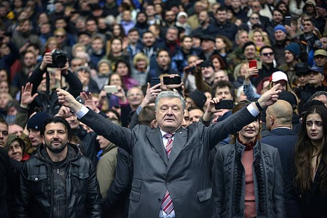 UKRAINE-POLITICS-VOTE-CANDIDATE-DEBATE