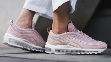 新聞分享 / 粉嫩野性美 Nike Air Max 97 Premium 'Pink Snakeskin' 實著賞析