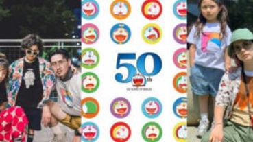 UNIQLO50周年哆啦A夢UT系列來了,這次還加碼推出親子裝,全家一起穿上!
