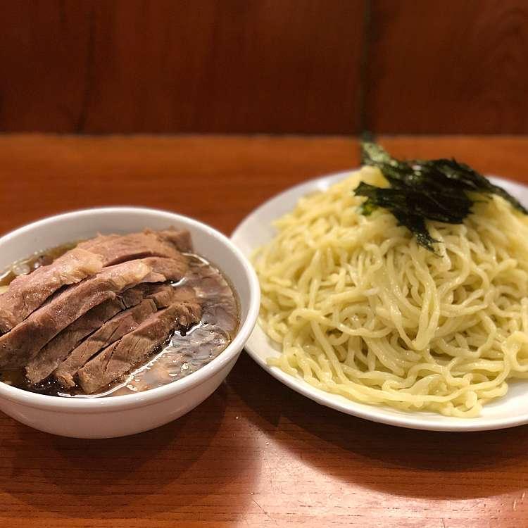 新宿区周辺で多くのユーザーに人気が高いつけ麺らあめん 満来のちゃーしゅーざるの写真