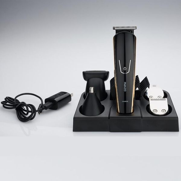 理髮器 充電理發剪電動理發器理發剪套裝理發器 多功能五合一理發器 糖果時尚