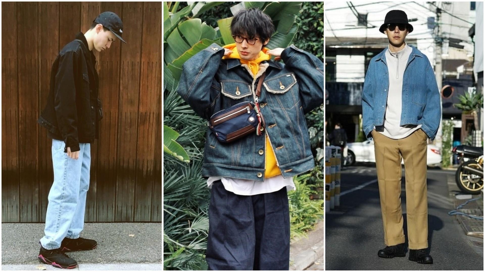 經典牛仔外套這樣穿搭!「牛仔外套」搭配這三褲款絕不出錯