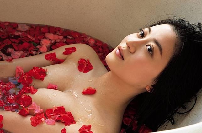 享受花花浴