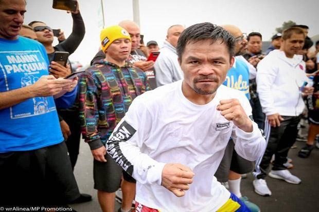Disambangi Virus Corona, Manny Pacquiao dan Keluarga Dikarantina