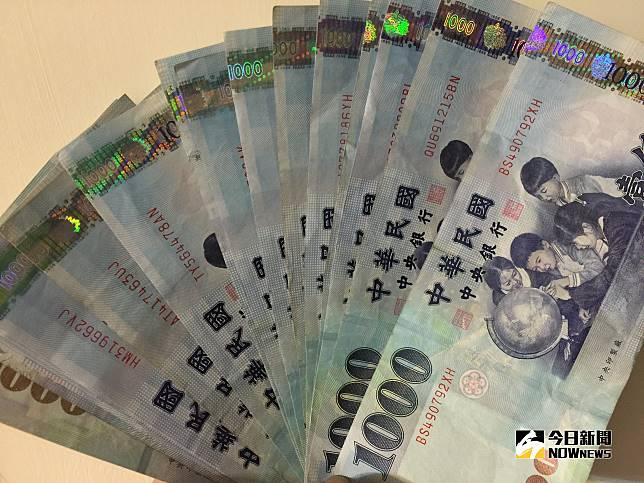 ▲新台幣兌美元10月19日早盤貶破31元。(圖/記者顏真真攝)