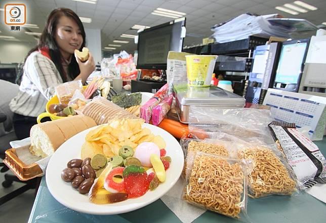 不良飲食習慣會增加患大腸癌的風險。